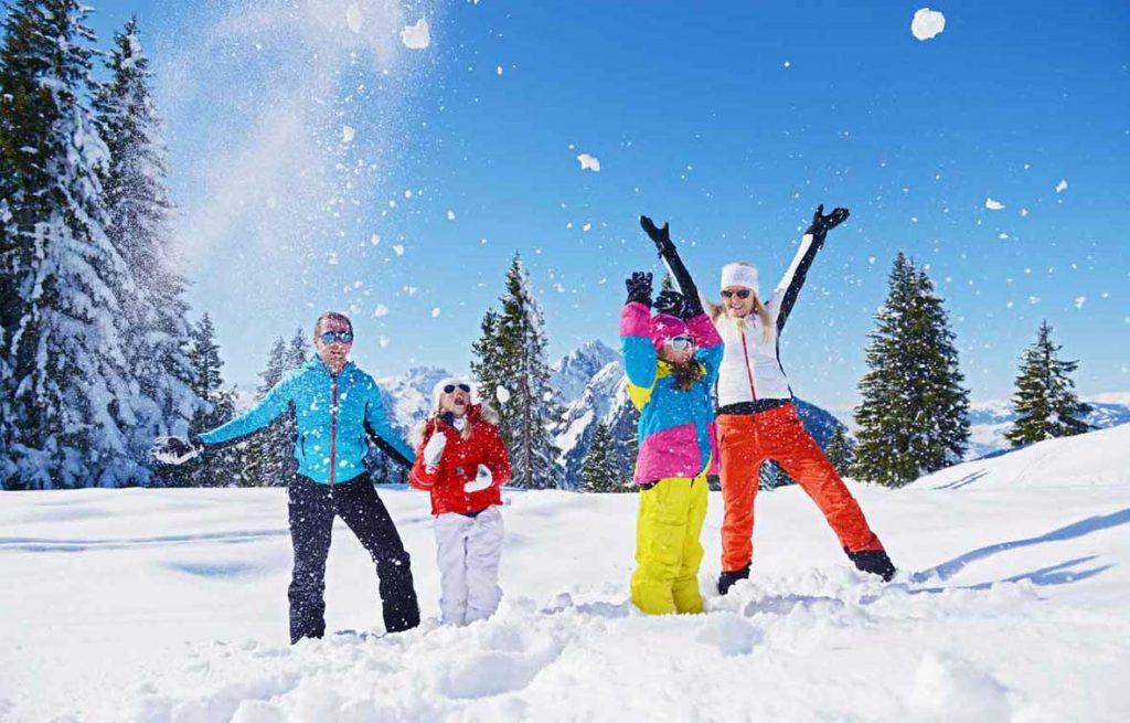 Alpendorf-Winterparadies