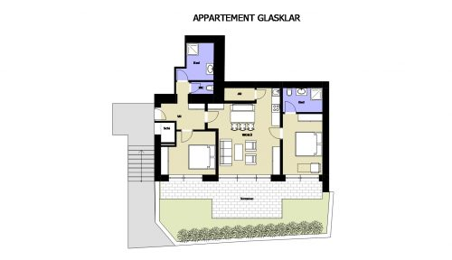 Appartement Glasklar